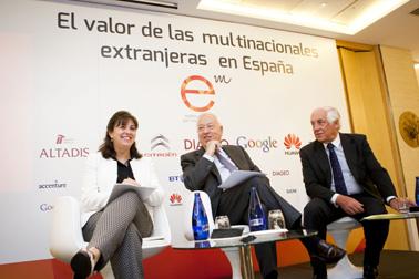 Jornada:  'El valor de las multinacionales en España'