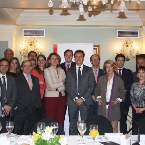 Encuentros de la Asociación con B. Cristeto, secretaria general de Industria y PYMES