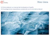 Jornada técnica para los socios sobre Derecho Laboral, con la colaboración de Pérez-Llorca