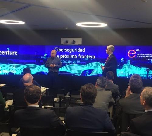 """Jornada técnica """"Ciberseguridad: la próxima frontera"""", con la colaboración de Accenture"""
