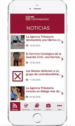 Altadis lanza una app para combatir el contrabando
