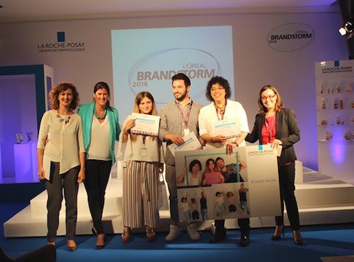 Un equipo de estudiantes andaluces gana la final nacional de L'Oréal Brandstorm 2015
