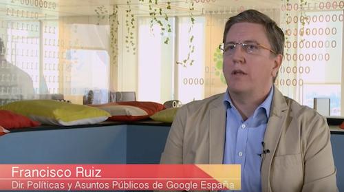 """""""Google trabaja por construir una sociedad española más avanzada y competitiva de cara al futuro"""""""