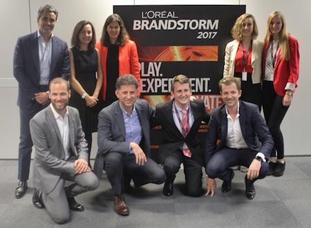 La Universidad Carlos III gana la final nacional de L'Oréal Brandstorm 2017