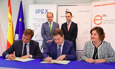 Multinacionales por marca España firma un convenio de colaboración  con el Gobierno de Castilla-La Mancha