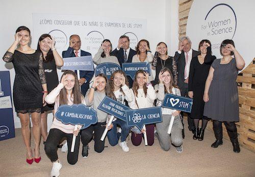 L'Oréal-Unesco For Women in Science lanza una campaña para impulsar la presencia  de niñas en las STEM