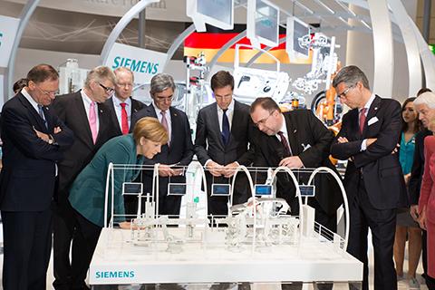 Siemens establece las bases de la producción del futuro