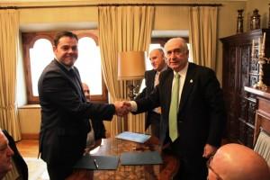 Firma acuerdo Siemes y Universidad de Oviedo