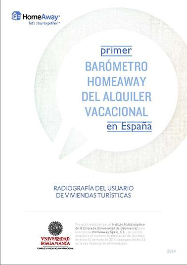 Primer Barómetro del alquiler vacacional en España