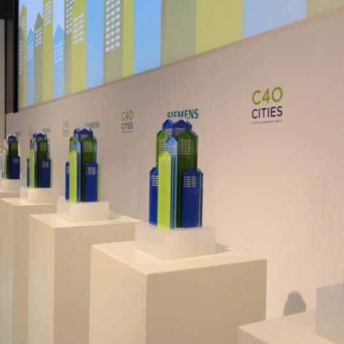 Barcelona es premiada en Nueva York por su lucha contra el cambio climático