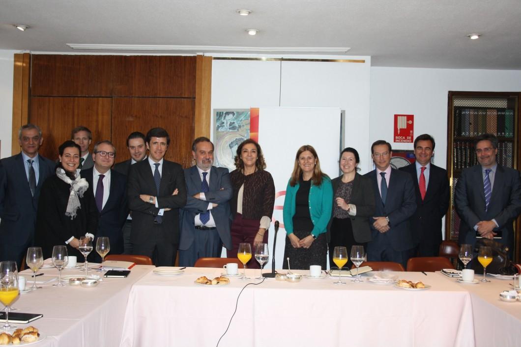Encuentros de la Asociación con Carmen Vela, Secretaria de Estado de I+D+i