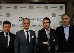 El IEB y Deloitte lanzan un Observatorio de Finanzas Corporativas