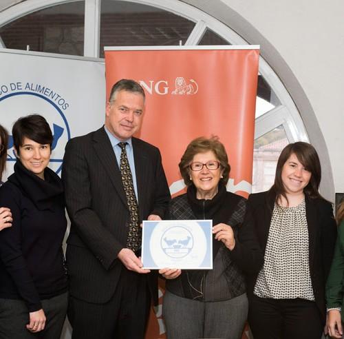 ING dona más de 7.000 kilos al Banco de Alimentos de Madrid