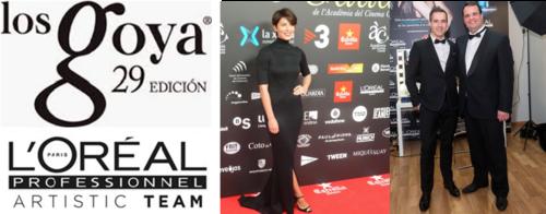 L'Oréal con el cine español en los Goya, Feroz y Gaudí