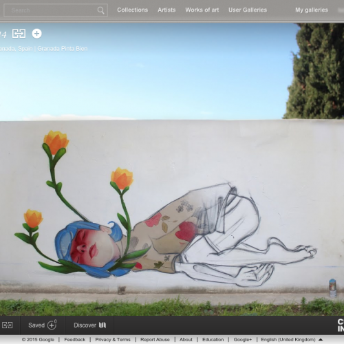 Google lleva el arte callejero a tu vida diaria con Google Art Project
