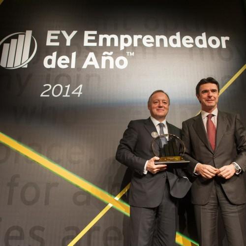 Ernesto Antolín, ganador del Premio Emprendedor del Año 2014 de EY