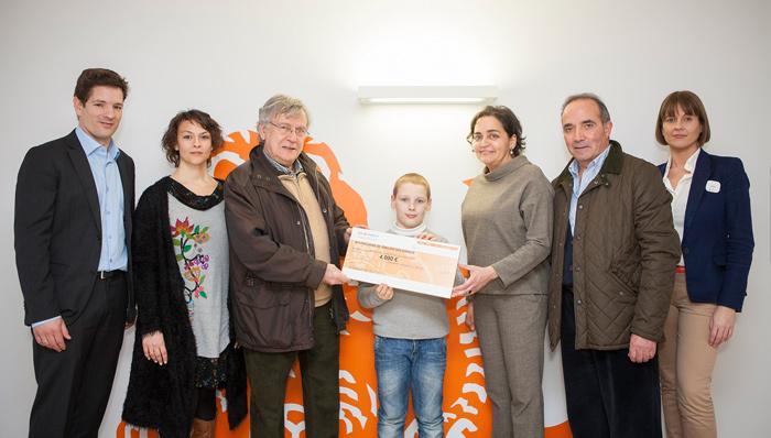 ING dona 4.000 kilos de comida al Banco de Alimentos de Cantabria