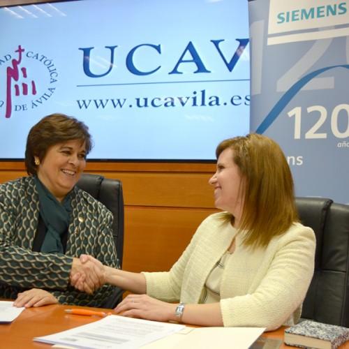 Siemens y la UCAV firman un acuerdo para impulsar la investigación