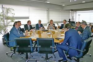 Reunión con la Cámara de Comercio de España