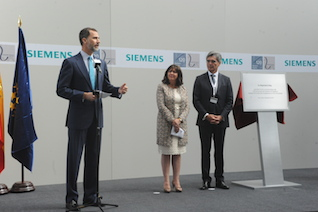 Siemens_Su Majestad el Rey inaugura el Centro de IDi ferroviario  3