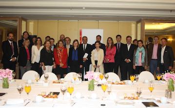 Encuentros de la Asociación con V. Calvo-Sotelo, secretario de Estado de Telecomunicaciones