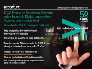 XVI Premio de Periodismo Accenture sobre Economía Digital, Innovación y Tecnología