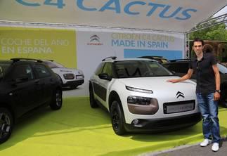 Citroën España con Alberto Contador en la V Marcha Cicloturista