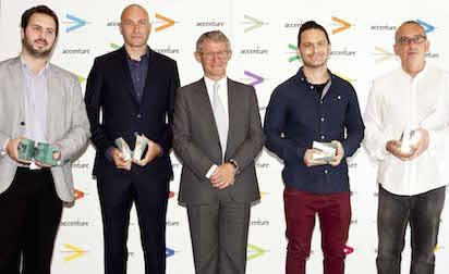Accenture entrega los galardones de la XVI edición de su Premio de Periodismo