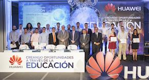 Huawei celebra su compromiso con la formación en nuevas tecnologías