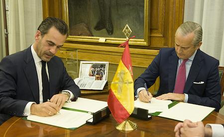 Altadis y la Guardia Civil firman acuerdo de colaboración para lucha contra contrabando