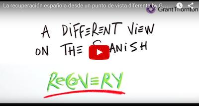 """Grant Thornton estrena """"La recuperación española desde un punto de vista diferente"""""""