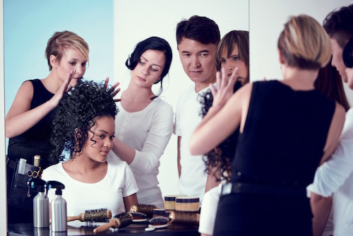 2014 Corporate Visual for the L'Oréal Foundation.