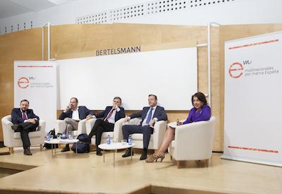 Multinacionales por marca España celebra un encuentro con los representantes económicos de los partidos políticos mayoritarios