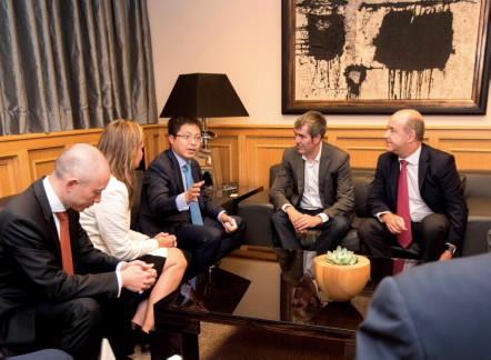 Huawei España presenta al Gobierno de Canarias su estrategia para impulsar la transformación digital en el archipiélago
