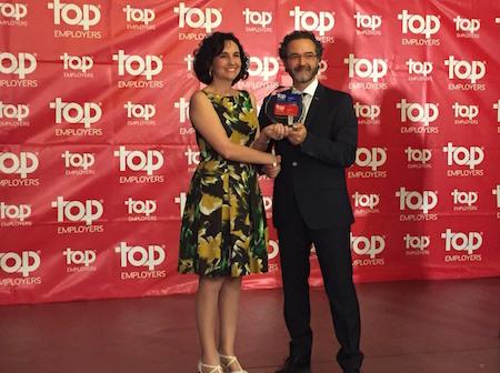 Japan Tobacco International elegida un año más, la mejor empresa de gran consumo para trabajar en España
