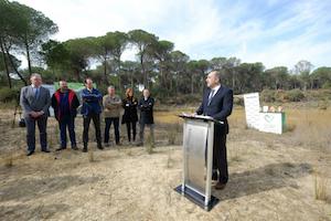 HEINEKEN España y la junta de Andalucía inician las actuaciones para restaurar humedales en Doñana