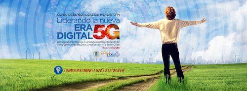 Arranca la cuarta edición del Curso de Especialización Huawei-UPM, con una nueva orientación hacia la tecnología 5G