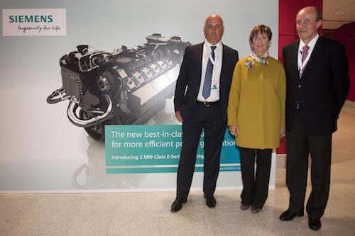 Siemens vuelve a apostar por España y lanza en Gipuzkoa su nueva gama de motores de 2MW
