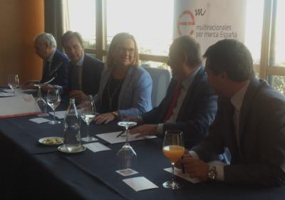 Multinacionales por marca España celebra un encuentro con Irene Garrido, Secretaria de Estado de Economía