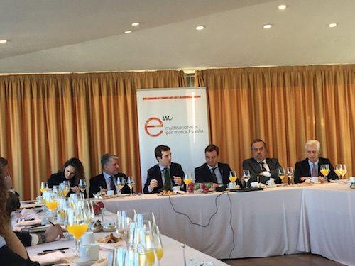 """""""Encuentros con los socios"""" con Pablo Casado, vicesecretario de Comunicación del Partido Popular"""