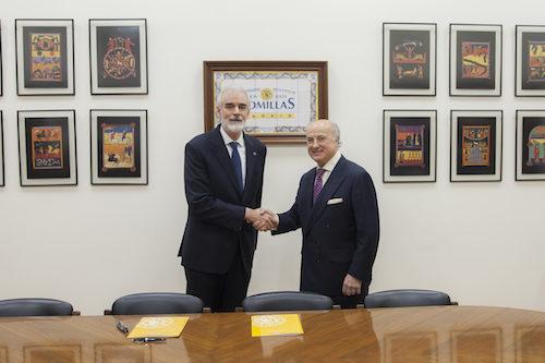 La Fundación Aon España y la Universidad Pontificia Comillas ICAI-ICADE firman un convenio de colaboración de investigación