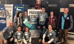 EY y Adecco convierten el metro de Madrid y el tranvía de Barcelona en aula por un día para jóvenes con discapacidad intelectual