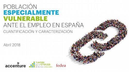 Estudio de la Población Especialmente Vulnerable ante el empleo en España, elaborado por Accenture y Fedea