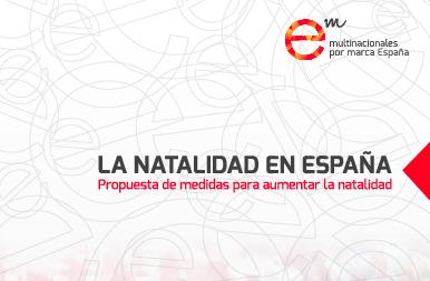 Multinacionales por marca España propone medidas para incentivar la natalidad y aumentar la población laboral