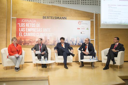 """Jornada """"Los retos de las empresas ante el cambio climático"""""""