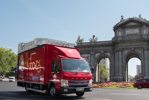 HEINEKEN España pionera en distribución sostenible en Madrid con un camión «eco»