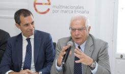 """""""Encuentro con los socios"""" con el ministro de Asuntos Exteriores, Unión Europea y Cooperación, Josep Borrell"""