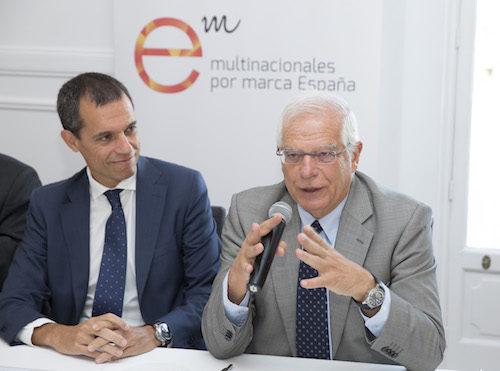 «Encuentro con los socios» con el ministro de Asuntos Exteriores, Unión Europea y Cooperación, Josep Borrell