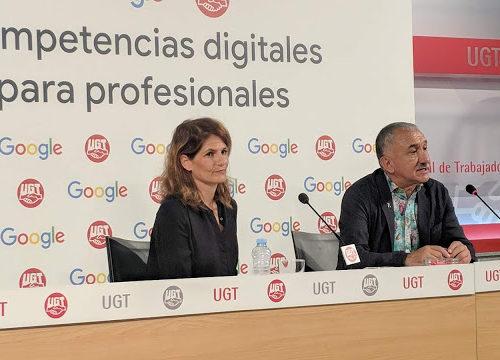 Google y UGT impulsan la formación en competencias digitales para trabajadores y trabajadoras de toda España