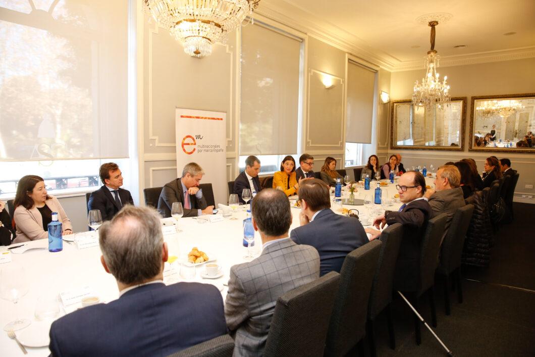 """""""Encuentro con los socios"""" con Reyes Maroto, ministra de Industria, Comercio y Turismo"""